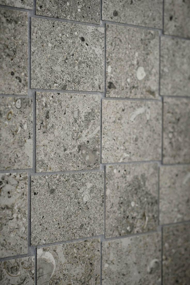 #mystone gris fleury | ceramic #stone | #ceramic #tiles | #flooring | #covering | #Marazzi