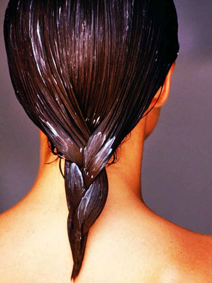 Healthy hair mask - easy home made mask to restore dry hair