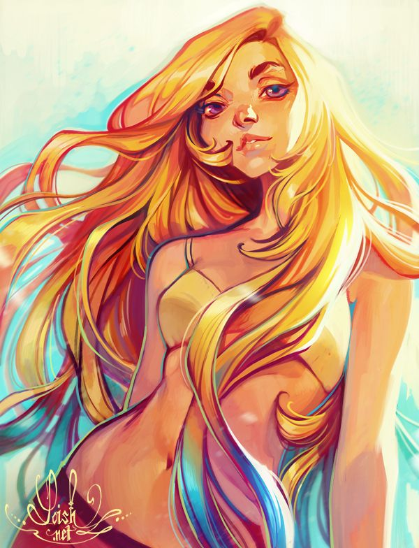summer by loish on DeviantArt