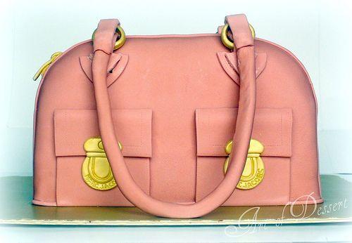 Tutorial: Marc Jacobs Bag Cake