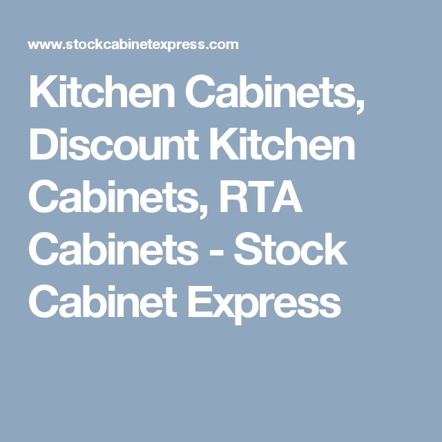 Kitchen Cabinets, Discount Kitchen Cabinets, RTA Cabinets - Stock Cabinet Express