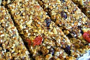 Fruits and Nuts granola bar Iron rich foods