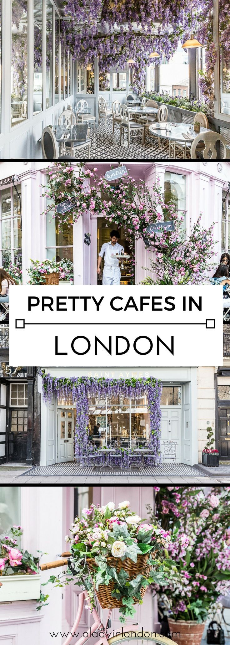 7 Pretty Cafes in London – You Have to See These P…