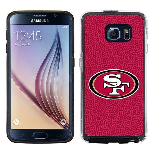San Francisco 49ers Team Color NFL Football Pebble Grain Feel Samsung Galaxy S6 Case