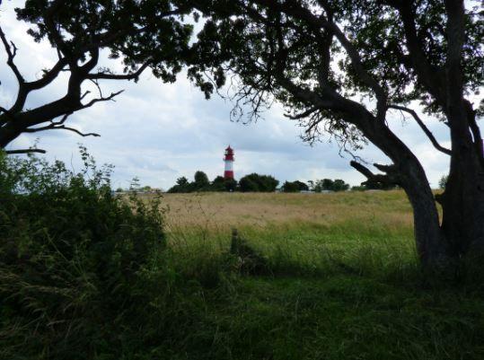 Landschaft mit Leuchtturm, Falshöft - Foto: S. Hopp