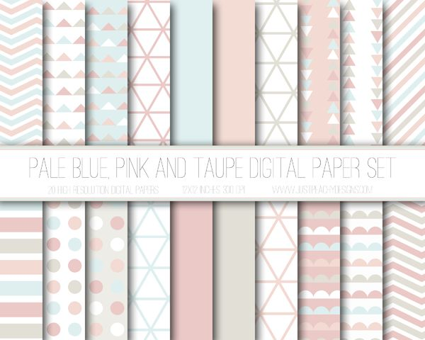 Just Peachy Designs: Shop announcement and free digital paper!