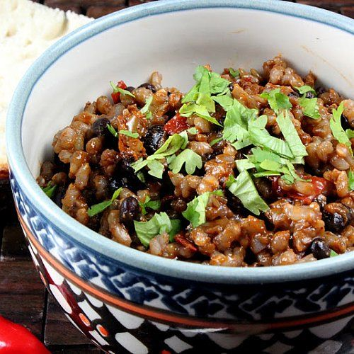 One-Pot Vegetarian Dinner: Cuban Rice and Beans