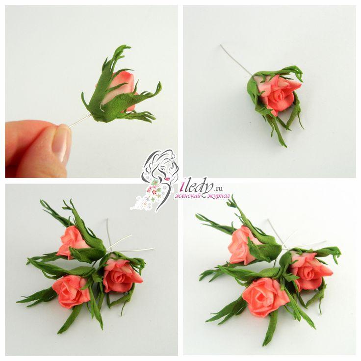 Розы из фоамирана - как сделать своими руками, 3 мастер - класса с пошаговыми фото для начинающих