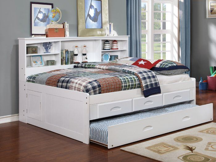 Viv Rae Kaitlyn Mate S Captain S Bed With Trundle Reviews