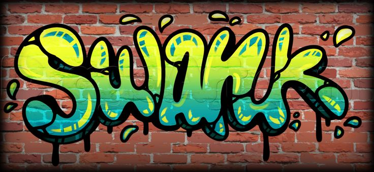 How To Draw Swank Graffiti Step By Pop Culture