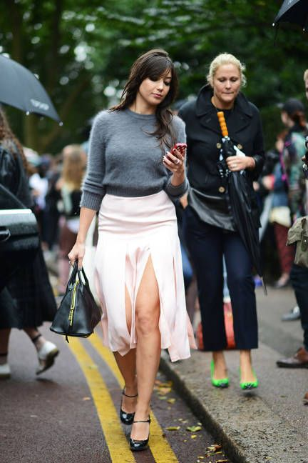 Street Chic London Fashion Week Spring 2014 Collections - London Fashion Week Street Style Photos - Daisy Lowe