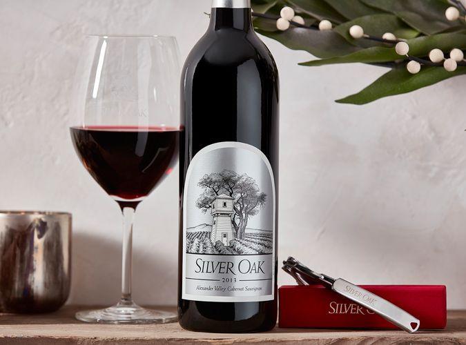 silver oak wine holiday gift