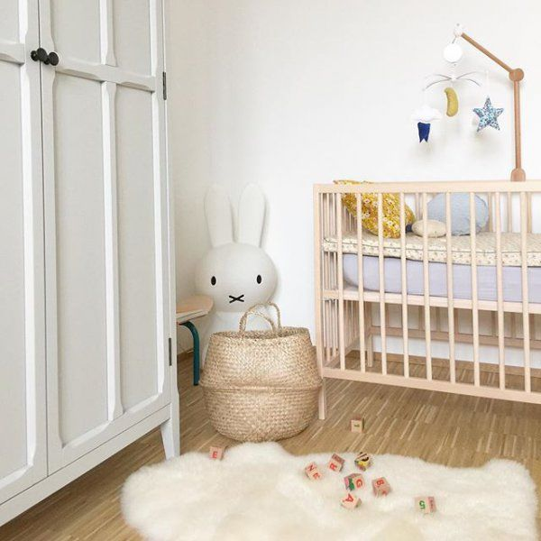 Une atmosphère paisible dans la chambre d'enfant Source : frenchlovegram