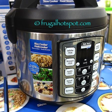 Aroma Professional Plus Rice Cooker Multicooker. #Costco #FrugalHotspot