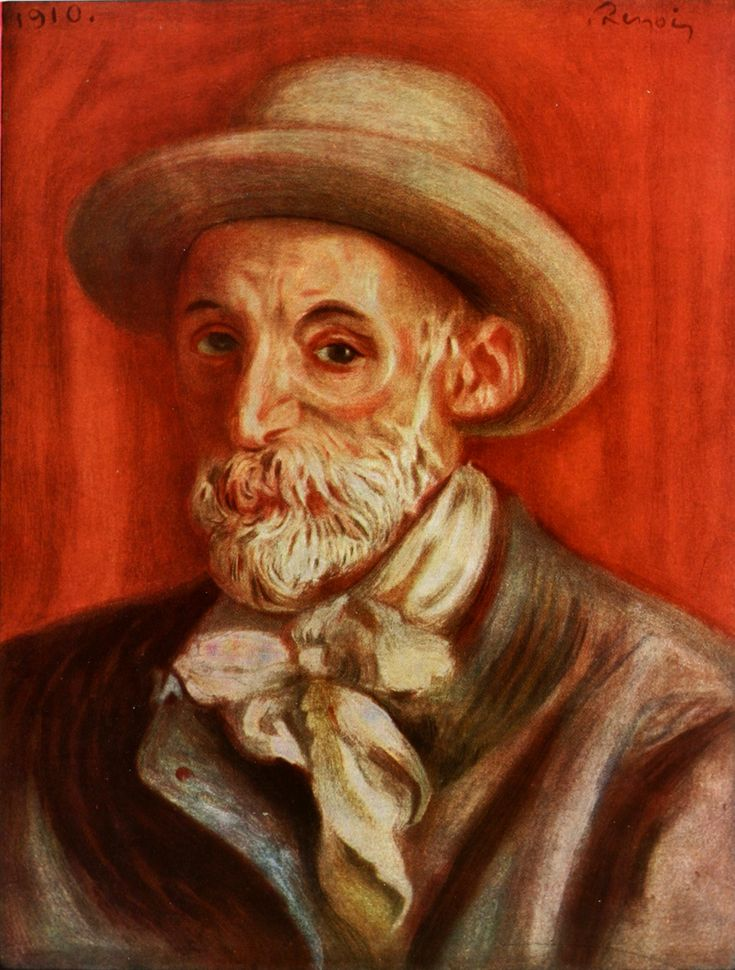 artist self portraits | Self-Portrait - Pierre-Auguste Renoir - WikiPaintings.org