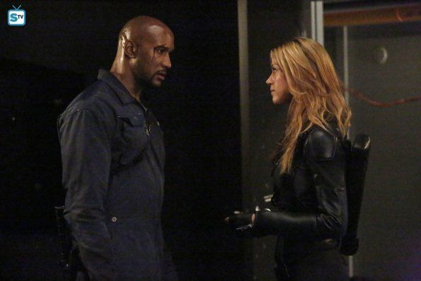 "#AgentsofSHIELD 2x15 ""One Door Closes"" - Mack and Bobbi"