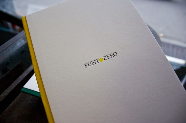 Brochure and business card for a wine producer, Puntozero / by Tipografia Pezzini #letterpress