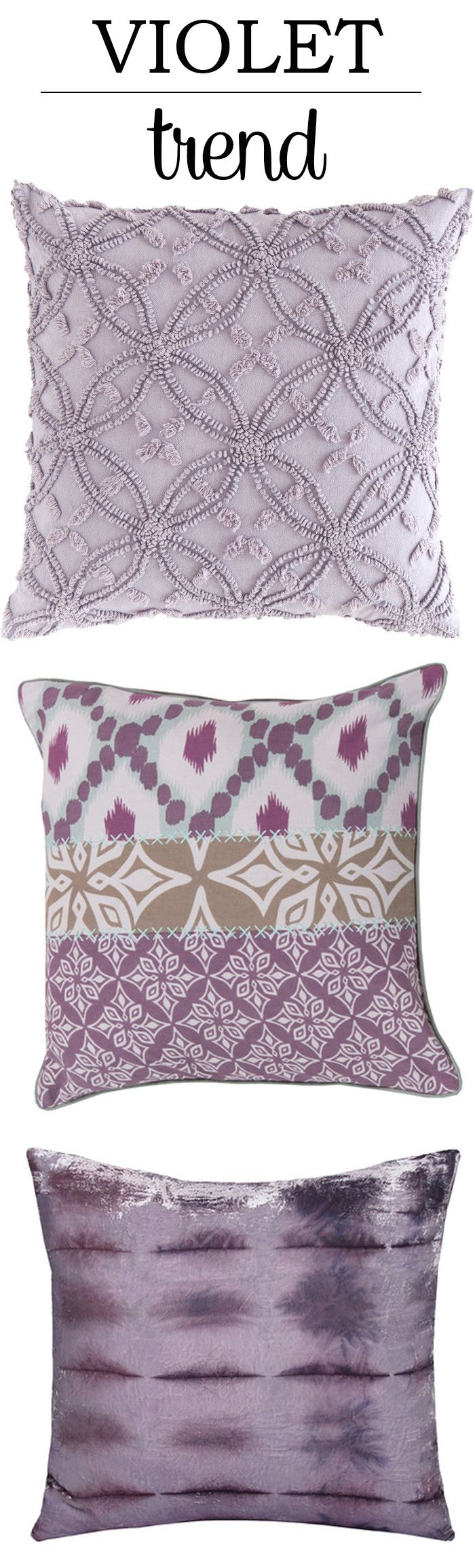 Violet Trend in Chenille, Patchwork, and Valvet Tie Dye Fabrics!