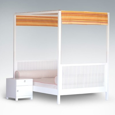 ducduc cabana full size canopy bed