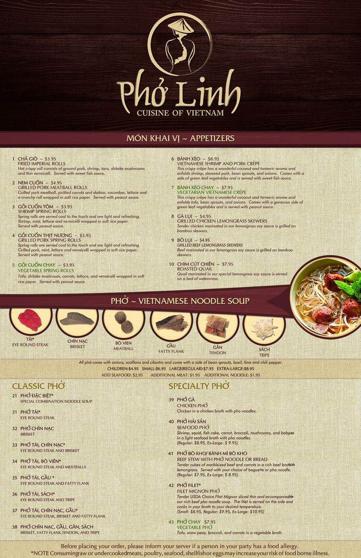 Authentic Vietnamese Restaurant Menu and Business Collaterals Other design #71 by Daelinzan