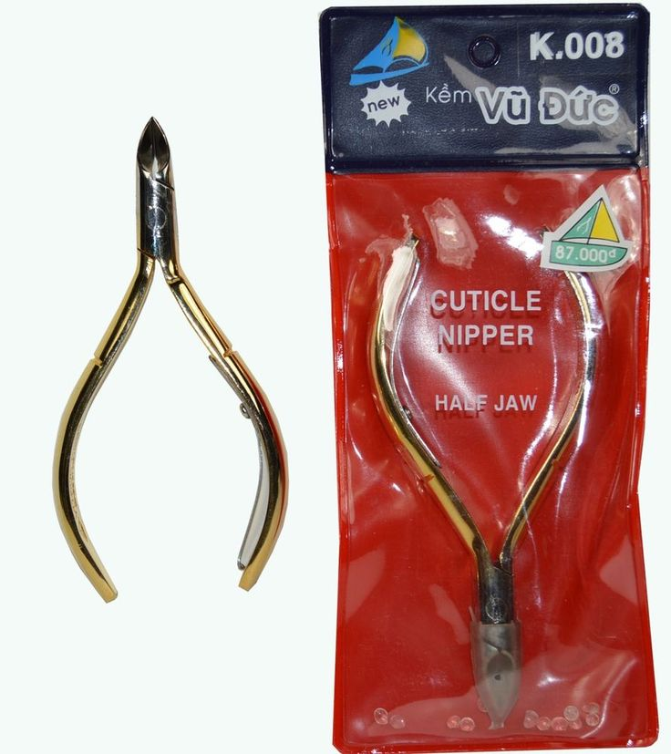 VuDuc Ingrowing toe nail nippers k008 Gold for professional use #kemvuduc