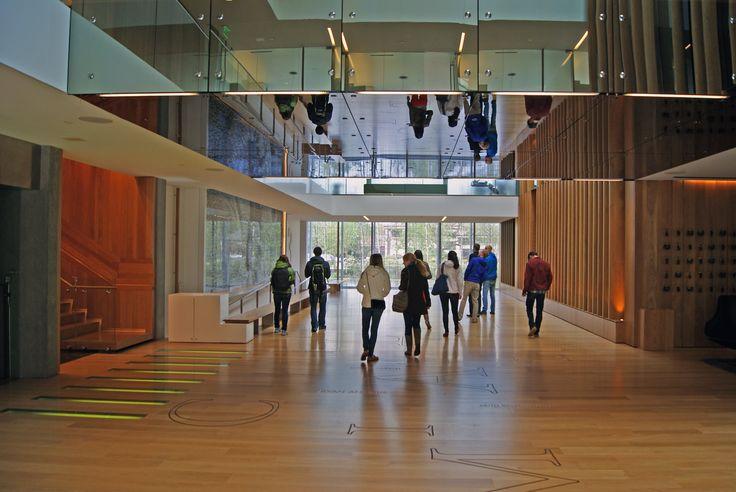 High School Interior Design Athletics Lobby