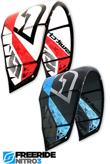 Nitro3 - the best freeride kite ever made.  #kitesurfing #kiteboard #swichkites #nitro3
