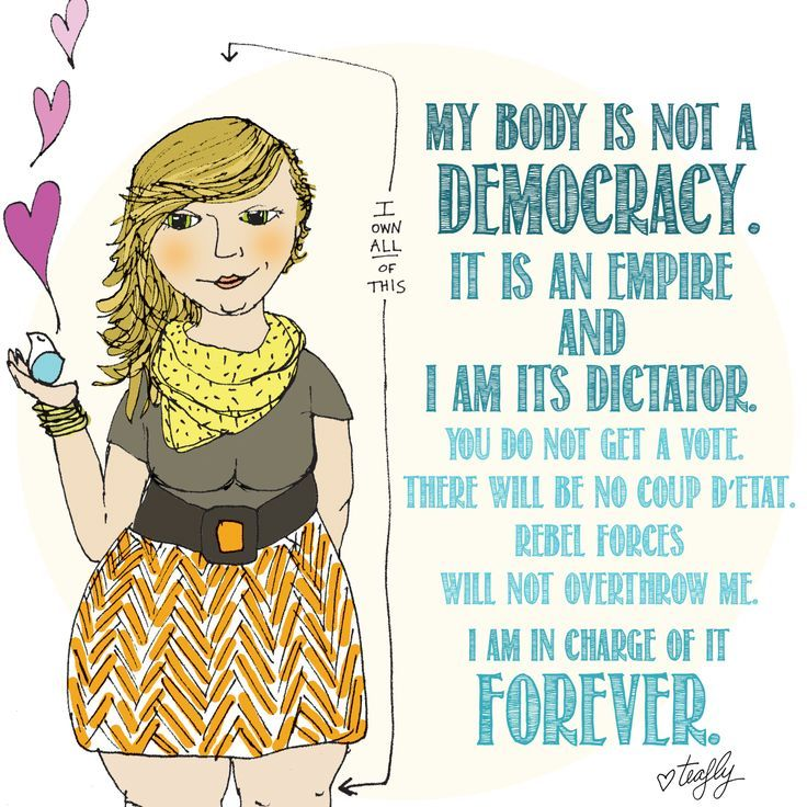 My body is not a democracy