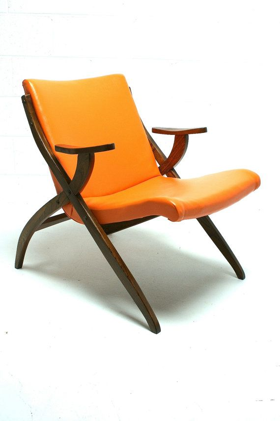 vtg 1950s 1960s unique mid century danish modern lounge arm x chair on etsy 39995 - Mid Century Modern Furniture Of The 1950s