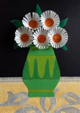 Květy z košíčků na cukroví