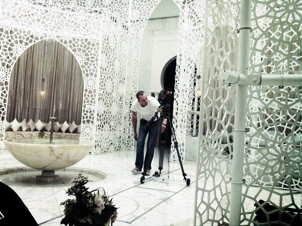 Royal Mansour's beautiful spa