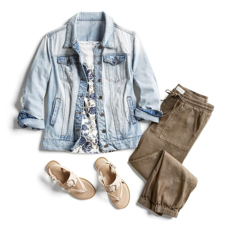 the-5-spring-denim-trends-to-ask-your-stylist-for-44462  I love this top and pants, not jacket or shoes