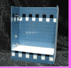 Tub/shower enclosure kit - miniature