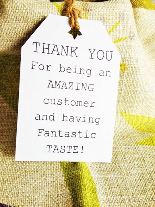 Thank you tags https://www.etsy.com/shop/WhataQuirky
