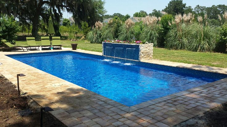 1000 ideas about fiberglass swimming pools on pinterest for Pool design northern virginia