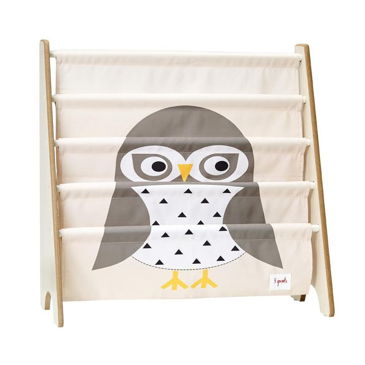 owl book rack - 3 Sprouts