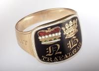 A Lord Nelson Mourning Ring,