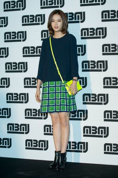 South Korean actress Go ARa attends the after party for Marc By Marc... News Photo 454262974