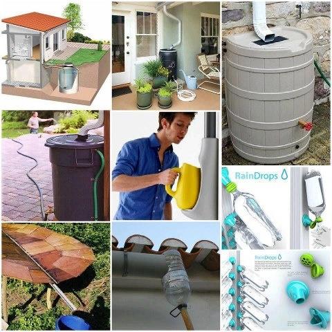 Reutilizando el agua de lluvia organizando ahorrando y - Agua de lluvia ...
