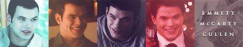 'The Twilight Saga' - Emmett Through the Years.