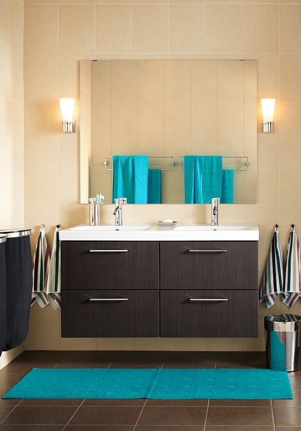 Best Bathrooms Images On Pinterest Dream Bathrooms Bathroom - Turquoise bathroom mats for bathroom decorating ideas