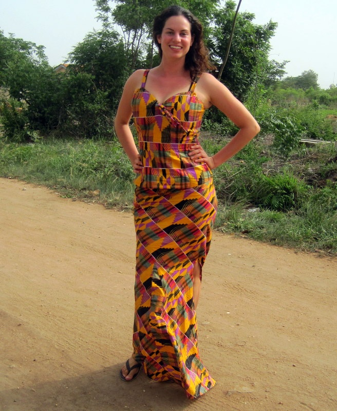 17 Best Images About Ghanian Cloth Fashion On Pinterest