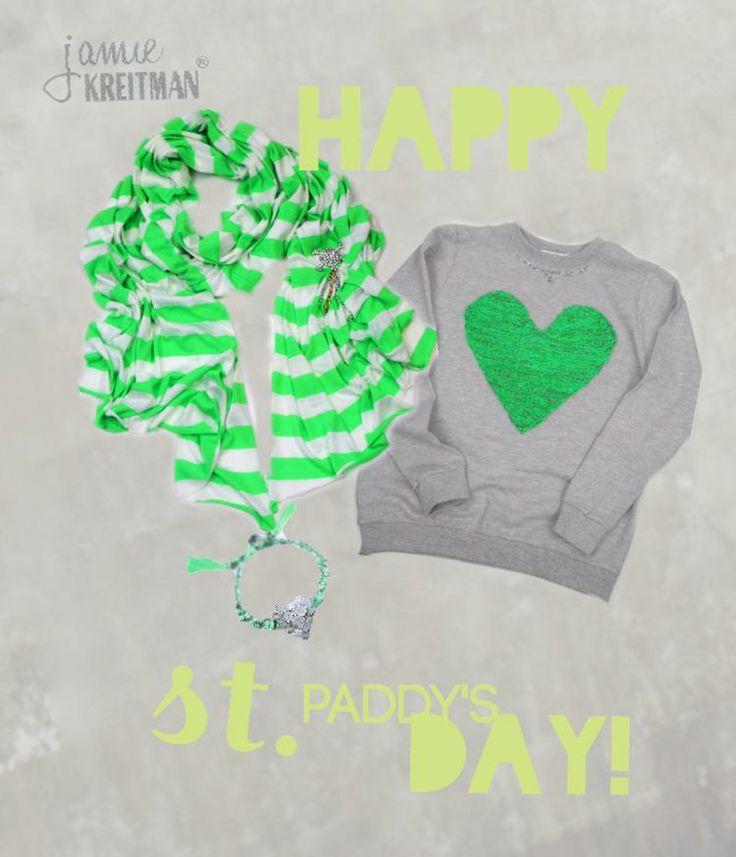 Happy St. Paddy's Day! - Jamie Kreitman®  @Bazaart www.jamiekreitman.com