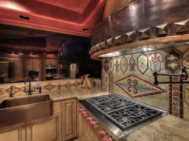 Southwestern Kitchen Tile Backsplash Tile Backsplash