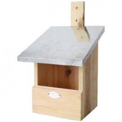 Roodborst vogelhuisje van Vogelhuisjestore.nl