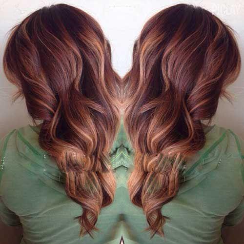 Blonde Balayage Hair Colors With Highlights: Best 25+ Auburn Hair Colors Ideas On Pinterest