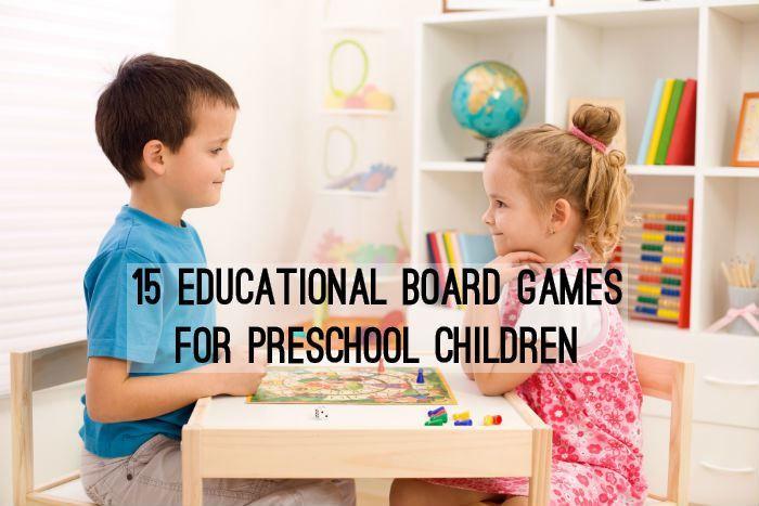 15 Educational Board Games for Preschool Children