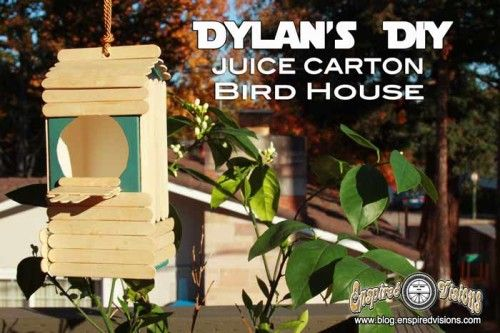 Backyard Jungle (Cub Scout Tiger Adventure) - Six DIY Birdhouse Projects | The DIY Adventures