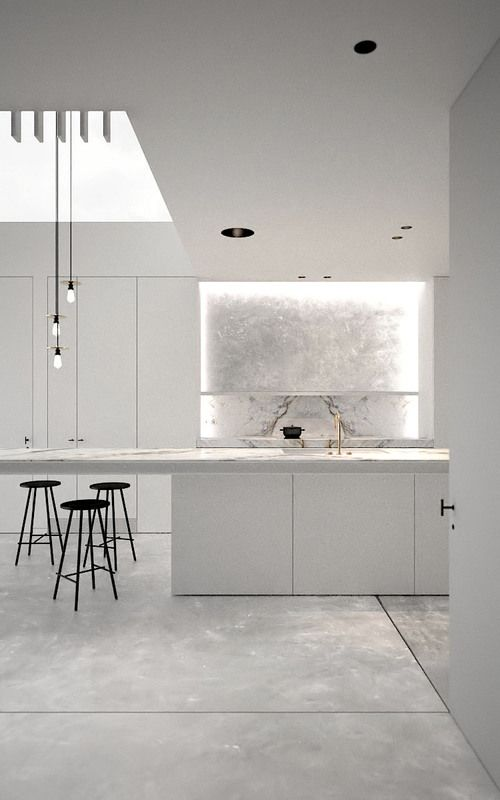 Stunning Kitchen space bright & modern #furniturehunters AD office interieurarchitect Arçen Dockx — LC 1114 | Gezinswoning