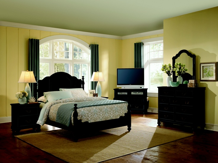 Best My Black Bedroom Furniture W What Color Walls Images On